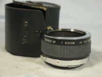 '   7 Element ' Olympus OM Fit Tamron 7 element 2X Converter Lens -NICE-FAST- £8.99